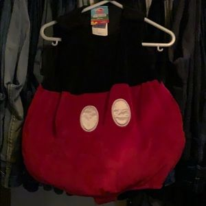 Disney Mickey Mouse Costume, size 12 months